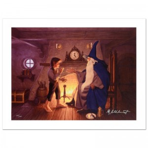 The One Ring Limited Edition Giclee on Canvas by The Brothers Hildebrandt! Numbered and Hand Signed by Greg Hildebrandt! Includes Certificate of Authenticity!