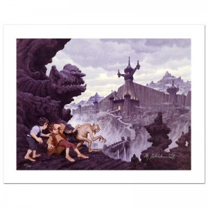 City Of The Ringwraiths Limited Edition Giclee on Canvas by The Brothers Hildebrandt! Numbered and Hand Signed by Greg Hildebrandt! Includes Certificate of Authenticity!