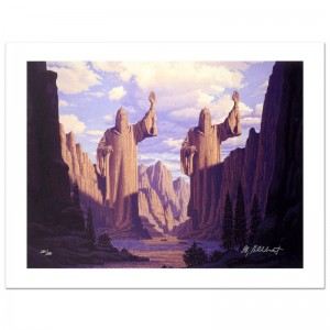 The Pillars Of The Kings Limited Edition Giclee on Canvas by The Brothers Hildebrandt! Numbered and Hand Signed by Greg Hildebrandt! Includes Certificate of Authenticity!