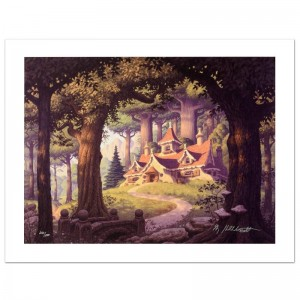 Rivendell Limited Edition Giclee on Canvas by The Brothers Hildebrandt! Numbered and Hand Signed by Greg Hildebrandt! Includes Certificate of Authenticity!