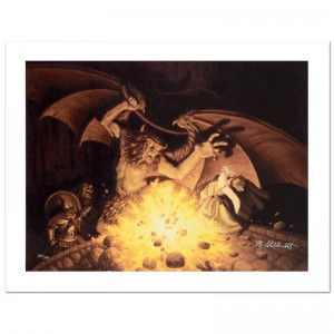 Balrog Limited Edition Giclee on Canvas by The Brothers Hildebrandt! Numbered and Hand Signed by Greg Hildebrandt! Includes Certificate of Authenticity!