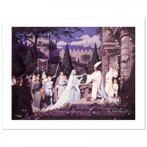 The Wedding Of The King Limited Edition Giclee on Canvas by The Brothers Hildebrandt! Numbered and Hand Signed by Greg Hildebrandt! Includes Certificate of Authenticity!