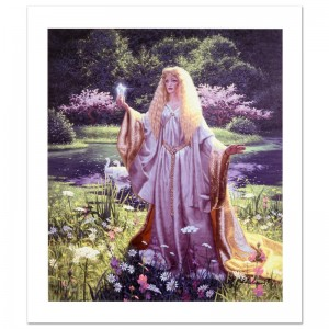 The Gift Of Galadriel Limited Edition Giclee on Canvas by Greg Hildebrandt! Numbered and Hand Signed by the Artist! Includes Certificate of Authenticity!