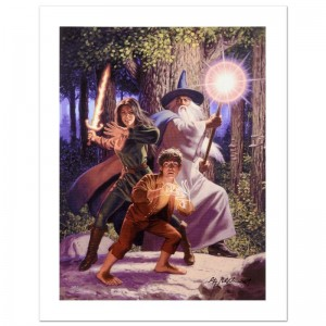 Arwen Joins The Quest Limited Edition Giclee on Canvas by The Brothers Hildebrandt! Numbered and Hand Signed by Greg Hildebrandt! Includes Certificate of Authenticity!