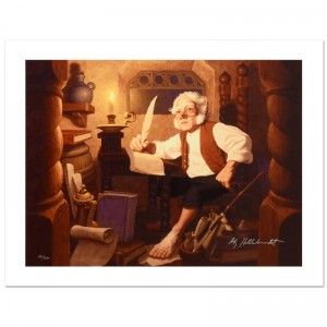 Bilbo At Rivendell Limited Edition Giclee on Canvas by The Brothers Hildebrandt! Numbered and Hand Signed by Greg Hildebrandt! Includes Certificate of Authenticity!
