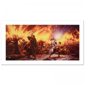 Journey In The Dark Limited Edition Giclee on Canvas by The Brothers Hildebrandt! Numbered and Hand Signed by Greg Hildebrandt! Includes Certificate of Authenticity!
