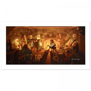 The Unexpected Party Limited Edition Giclee on Canvas by The Brothers Hildebrandt! Numbered and Hand Signed by Greg Hildebrandt! Includes Certificate of Authenticity!