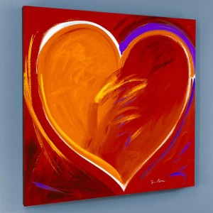 Deep In My Heart Limited Edition Giclee on Canvas by Simon Bull