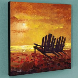 Contentment Limited Edition Giclee on Canvas by Simon Bull