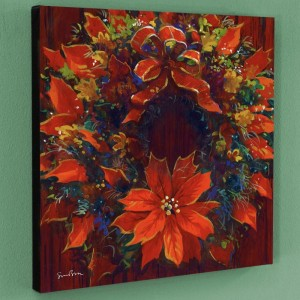 Holiday Homecoming Limited Edition Giclee on Canvas by Simon Bull