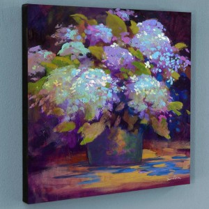 Hydrangea Limited Edition Giclee on Canvas by Simon Bull