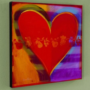 Rainbow Road Limited Edition Giclee on Canvas by Simon Bull
