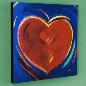 To Hold You In My Heart Limited Edition Giclee on Canvas by Simon Bull
