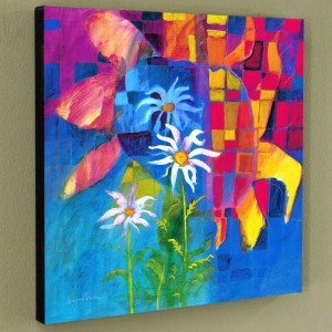 Together We Chase The Sun Limited Edition Giclee on Canvas by Simon Bull