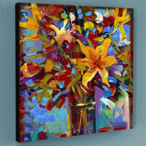 Celebrate I Limited Edition Giclee on Canvas by Simon Bull