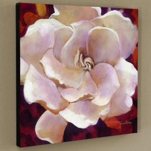 Gardenia Limited Edition Giclee on Canvas by Simon Bull
