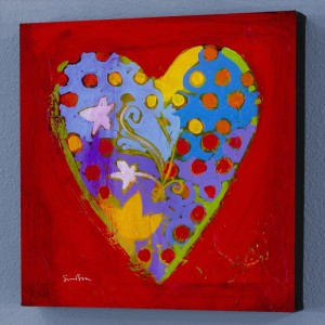 It's A Love Thing VI Limited Edition Giclee on Canvas by Simon Bull