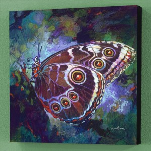 Verdigris Limited Edition Giclee on Canvas by Simon Bull