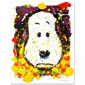 "Squeeze The Day-Thursday Limited Edition Hand Pulled Original Lithograph (27.5"" x 37"") by Renowned Charles Schulz Protege"