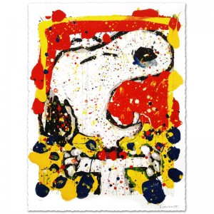 "Squeeze the Day-Friday Limited Edition Hand Pulled Original Lithograph (28"" x 35"") by Renowned Charles Schulz Protege"