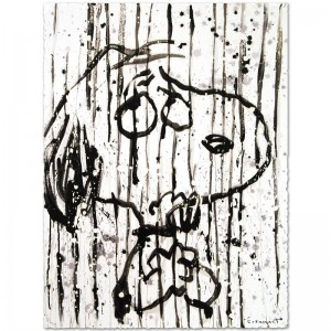 Dancing In The Rain Limited Edition Hand Pulled Original Lithograph by Renowned Charles Schulz Protege