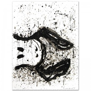 Watchdog 3 O'Clock Limited Edition Hand Pulled Original Lithograph by Renowned Charles Schulz Protege
