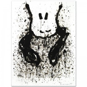 Watchdog 6 O'Clock Limited Edition Hand Pulled Original Lithograph by Renowned Charles Schulz Protege