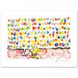 Tweet Tweet Limited Edition Hand Pulled Original Lithograph by Renowned Charles Schulz Protege