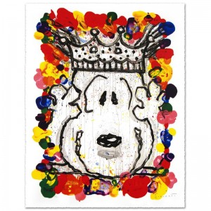 "Best in Show Limited Edition Hand Pulled Original Lithograph (26"" x 36"") by Renowned Charles Schulz Protege"