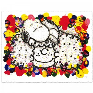 "Why I Like Big Hair Limited Edition Hand Pulled Original Lithograph (37"" x 27"") by Renowned Charles Schulz Protege"