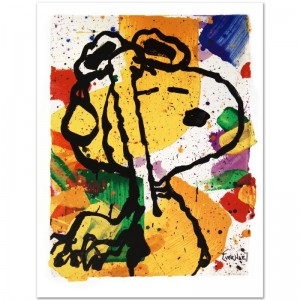 Salute Limited Edition Collectible Lithographic Art Print by Renowned Charles Schulz Protege Tom Everhart