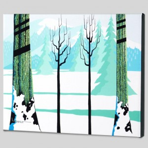 Winter Limited Edition Giclee on Canvas by Larissa Holt