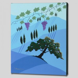 Tuscany Limited Edition Giclee on Canvas by Larissa Holt