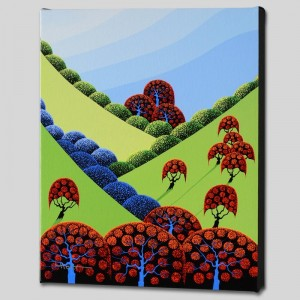 Autumn Fields Forever Limited Edition Giclee on Canvas by Larissa Holt