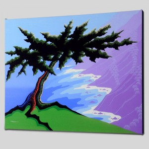Cypress Point Limited Edition Giclee on Canvas by Larissa Holt