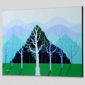 Eucalyptus Limited Edition Giclee on Canvas by Larissa Holt