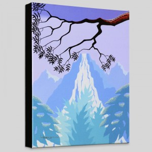 Mystic Falls Limited Edition Giclee on Canvas by Larissa Holt