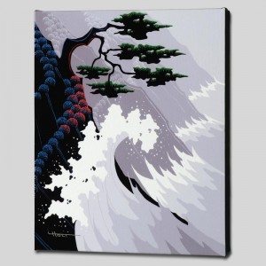 Tsunami Limited Edition Giclee on Canvas by Larissa Holt