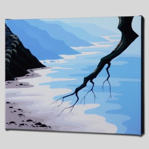 Coast Ecstasy Limited Edition Giclee on Canvas by Larissa Holt