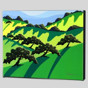 A Gathering of Trees Limited Edition Giclee on Canvas by Larissa Holt