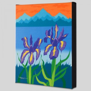 Iris Lake Limited Edition Giclee on Canvas by Larissa Holt
