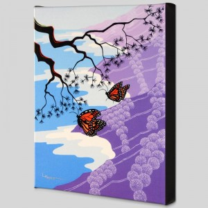 Monarchs Limited Edition Giclee on Canvas by Larissa Holt