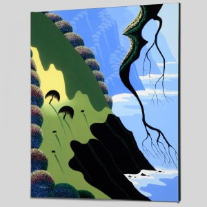 Coast and Cows Limited Edition Giclee on Canvas by Larissa Holt