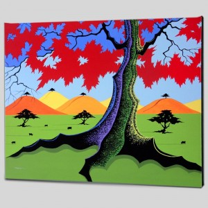 The Hills Have Trees Limited Edition Giclee on Canvas by Larissa Holt