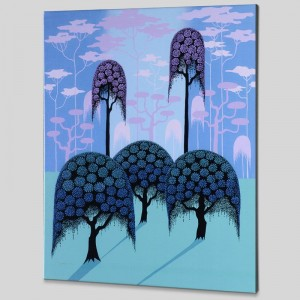 Veiled Forest Limited Edition Giclee on Canvas by Larissa Holt