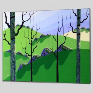 Over Hills Limited Edition Giclee on Canvas by Larissa Holt