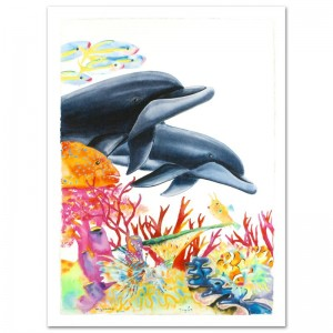 "Sea of Color Limited Edition Giclee on Canvas (29.5"" x 41.5"") by Wyland"