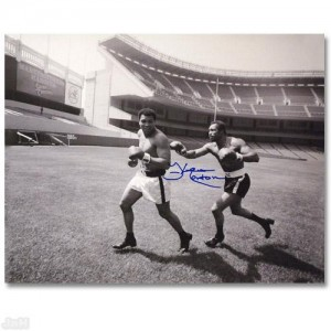 "Must-Have Signed Sports Photo! ""Ken Norton and Ali"