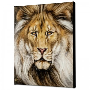 Kinglike Limited Edition Giclee on Canvas by Martin Katon