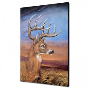 """Stunning Stag Limited Edition Giclee on Canvas by Martin Katon (24"""" x 36"""")"""